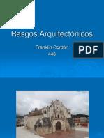 Rasgos Arquitectonicos