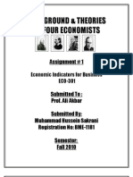 Title Page Theories of 4 Economist