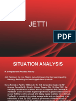 Jetti Marketing PLan Ppt