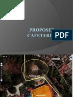 Proposed Cafeteria Opposite the Ugnayang La Salle in De La Salle University-Dasmariñas