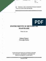 Instrumente si Metode de Masurare