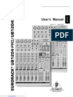 ub1204pro user manual