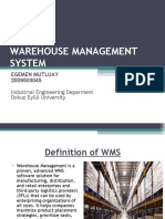 Warehouse Management May4