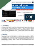Curso Hacking Kali Linux