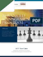 AMP Brochure Program 2018-2019