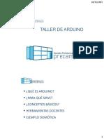 Presentación PreCampus ARDUINO