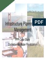 Class 16 - PPP Case Study - Cochabamba water privatisation.pdf
