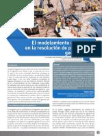 El Modelamiento Numérico en La Resolucion de Prob. Geotecnicos