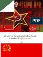 Afghan Soviet War