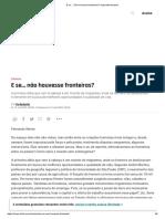 12 Disputas de Fronteira Na América Latina - Nexo Jornal