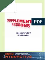 Science HS Grade 9 4rth Q