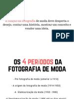História da fotografia de moda