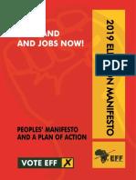 EFF 2019 election manifesto (final)