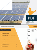 Renewable Energy Report July 2018