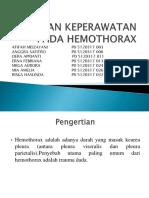 Asuhan Keperawatan Pada Hemothorax-1