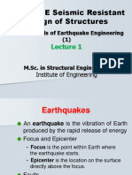 earthquake lecture