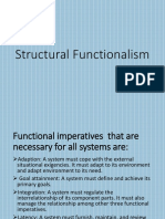 Structural Functionalism Saturday Dc Orias