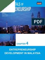 Chapter 4 Entrepreneurship Development in Malaysia.ppt