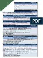 WBEF2018 Presentation Schedule - Nov16