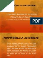 Adaptación a La Universidad