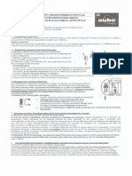 Aube TH-135 GR Manual