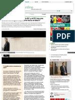 2013-11-06 Juan Andrés Lagos. Entre La DC y El PC Hay Una Alianza Estratégica Muy Fuerte Hacia El Futuro