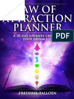 Law of attraction - 31 days planner