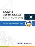 SAFe 4 Scrum Master Exam Study Guide (4 6) | Scrum (Software