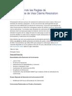 Comprendiendo las Reglas de Controversias de Visa Claims Resolution.docx