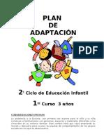 20.13.-PLAN  PERIODO ADAPTACIÓN ESCOLAR curso 2010-2011