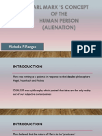 Concept of the Human PersonMARX
