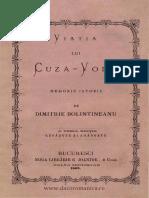 Viaţia lui Cuza-Vodă -  memoriu istoric, D. Bolintineanu, 1869.pdf