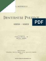 Discursuri politice -  1859-1883. Volumul 2 -  1874-1883, G. Boerescu.pdf