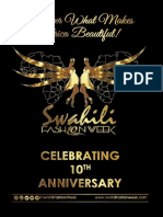 SWAHILI FASHION WEEK 2017 MAGAZINE