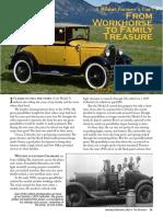 Wheat Farmer's Car