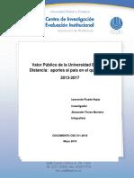 11 Valor Público de La Universidad Estatal a Distancia Aportes Al País en El Quinquenio 2013-2017