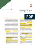 Libro de Neumosur. Capítulo 2. Radiología de tórax.