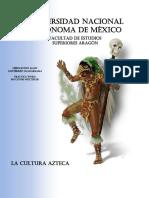 Práctica Word. Secciones Múltiples, la cultura Azteca. Alan Gutiérrez.