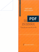 Escribir en español. Maria Negroni