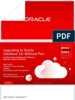 Upgrading to Oracle Database 12c