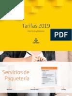 TARIFAS CORREO 2019