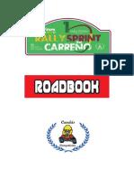 Roadbook Rallysprint Carreño