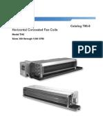 Catalogue FTHC Daikin CAT 700-5 LR Horz-Cncld Fan Coil Catalog