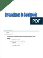 Instalaciones de Calefaccion