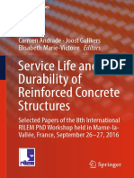 (RILEM Bookseries 17) Carmen Andrade, Joost Gulikers, Elisabeth Marie-Victoire - Service Life and Durability of Reinforced Concrete Structures-Springer International Publishing (2019)