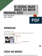 Strategi radikal dalam memenuhi target air minum universal.pptx