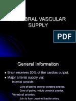 Neuro 10 Cerebrovascular Supply Student