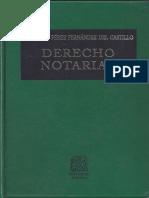 Derecho Notarial Bernardo Perez Fernandez Del Castillo 1