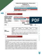 Control Dinámico de Procesos(1)