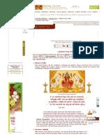 Diwali Lakshmi Puja Vidhi